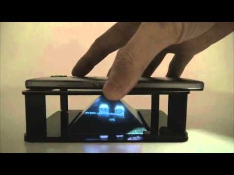 How to make your own hologram video tutorial - YouTube
