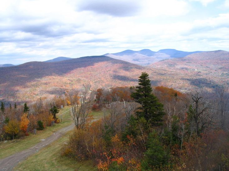 hunter mountain ny | Hunter, NY : View from top of Hunter Mountain