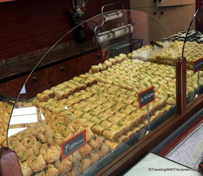 Syrian pastry, Pastisseria Principe, Barcelona