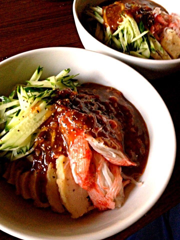 炊かれたいオトコ おこん 小栁津's dish photo ジャージャー麺   http://snapdish.co #SnapDish #お昼ご飯 #晩ご飯 #ラーメン