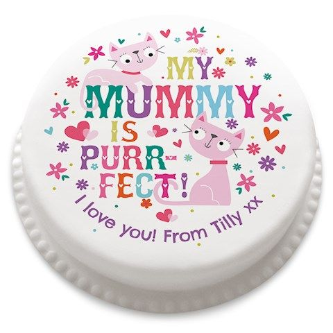 The Purrfect Mummy Cake - this is such a cool cake - buy online now at www.bakerdays.com