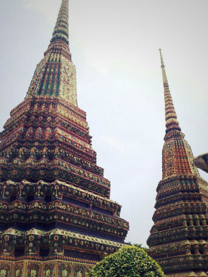 One of all temples in Wat Pho - Temple of Reclining Buddha, Bangkok, Thailand