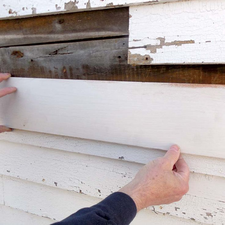 How To Replace Damaged Clapboards House Repair Curb