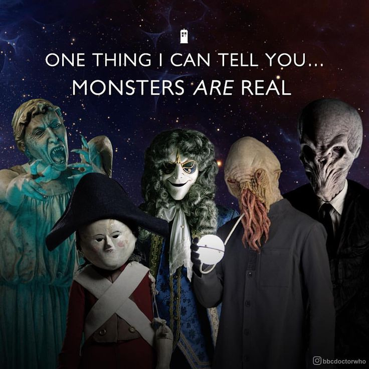 """24.6k Likes, 126 Comments - Doctor Who Official (@bbcdoctorwho) on Instagram: """"""""The monsters and the Doctor… It seems you cannot have one without the other."""" #HappyHalloween…"""""""