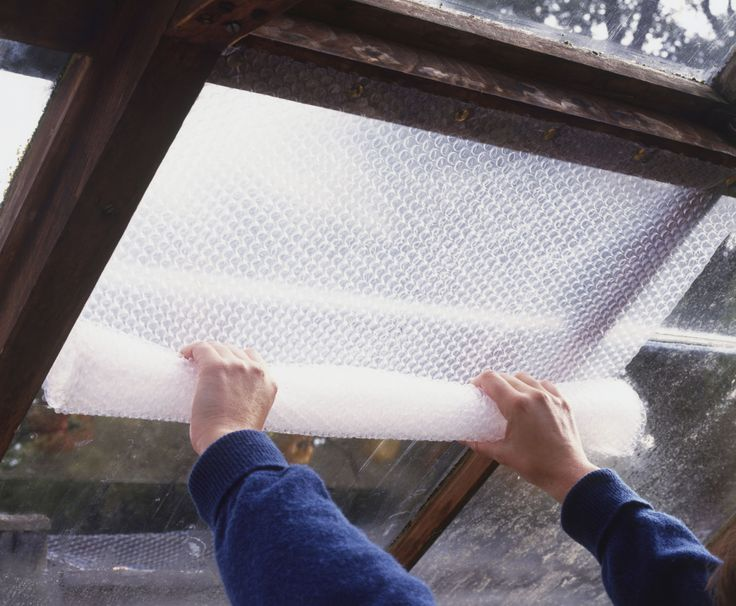 how to insulate a shed with bubble wrap