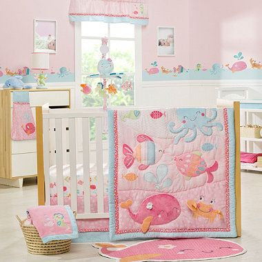 Crib Fashion Bedding > Carter's™ Under the Sea 4-Piece Crib Bedding Set from Buy Buy Baby