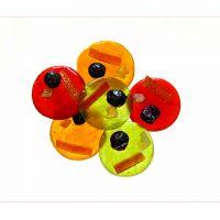 Mendiant tout fruit, Cruzilles, janv15 pâte de fruit et fruits confits