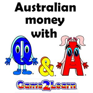 Australian money with QA has 12 levels. Each level includes animations plus activities and puzzles designed to support children as they experiment with each concept. There are also games to reinforce the concepts and reward progress in a fun way. The topics covered include: Identifying Australian coins and banknotes Matching prices to Australian coins and banknotes Comparing same values of Australian coins and banknotes Comparing more and less values of Australian coins and banknotes