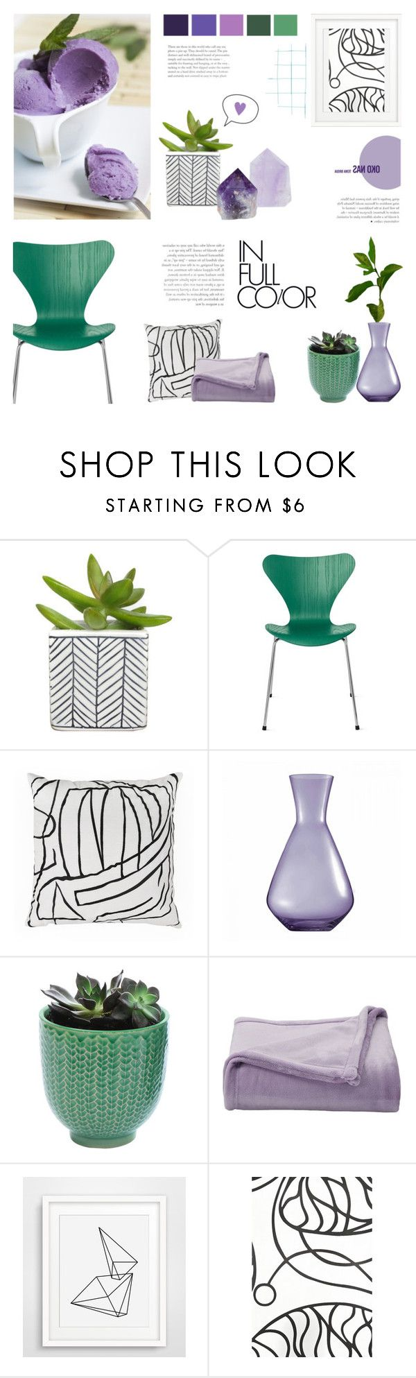 """""""#1 - In Full Color"""" by c-silla ❤ liked on Polyvore featuring interior, interiors, interior design, home, home decor, interior decorating, Kelly Wearstler, Wedgwood, Dot & Bo and The Big One"""