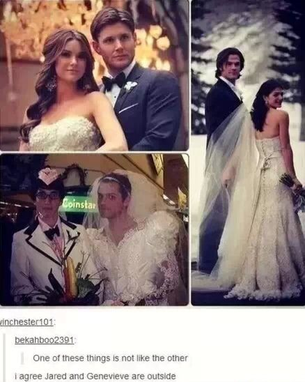 Supernatural weddings