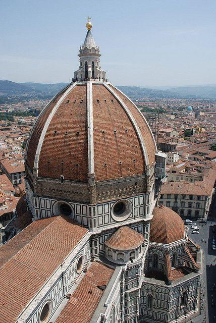 Brunelleschi. Cúpula de Florencia de Santa María de las Flores. Renacimiento.