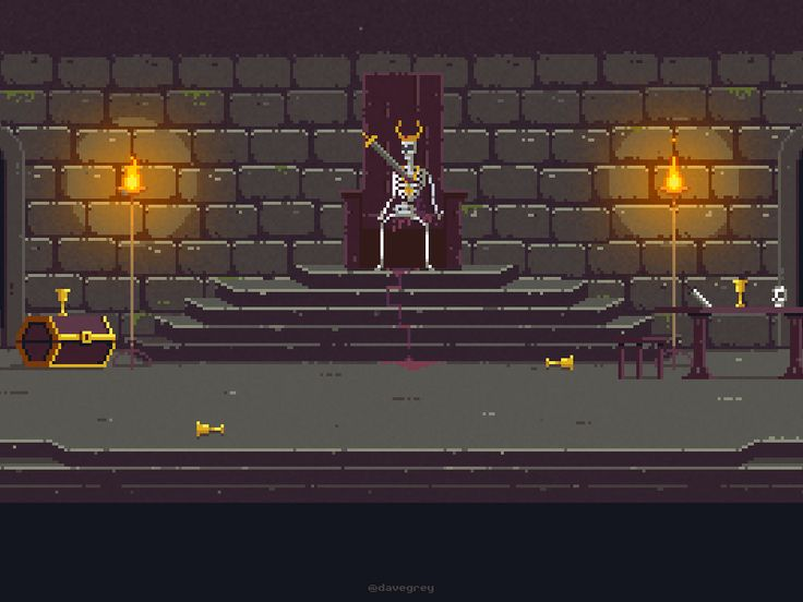 The Throne Room Pixel Art Pixel Art Pixel Art Games