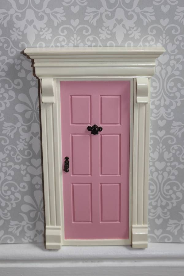 My pink fairy door fairy doors fairy and doors for Pink fairy door