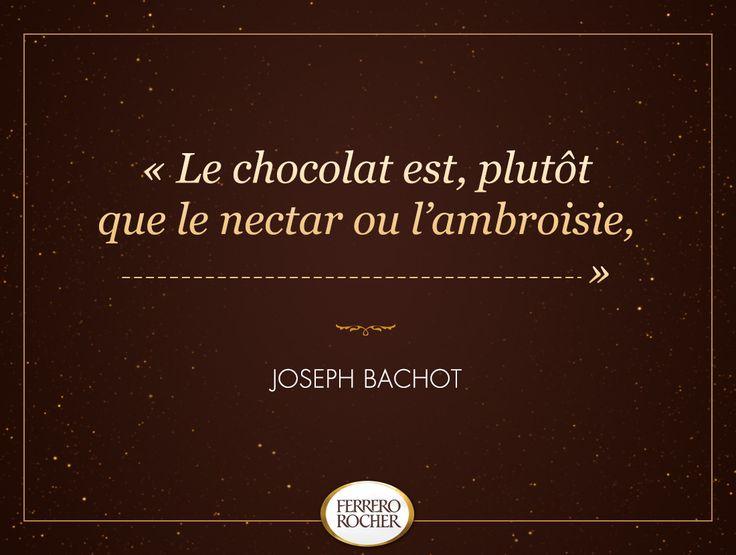 Saurez-vous terminer cette citation divine et chocolatée ?