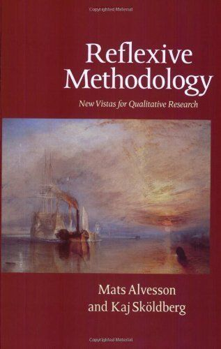 Reflexive Methodology: New Vistas for Qualitative Research 1st (first) Edition by Alvesson, Mats, Skoldberg, Kaj published by SAGE Publications Ltd (2000) http://www.newlimitededition.com/reflexive-methodology-new-vistas-for-qualitative-research-1st-first-edition-by-alvesson-mats-skoldberg-kaj-published-by-sage-publications-ltd-2000/