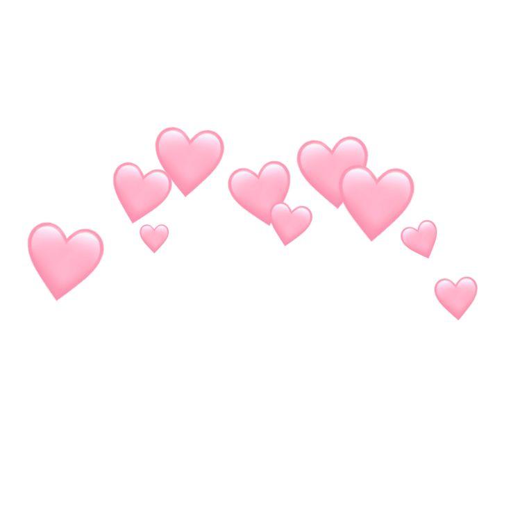 Freetoedit Heart Hearts Crown Emoji Emojis Tumblr Pink Heart Emoji Film Texture Emoji Art