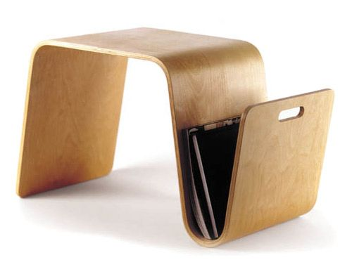Magazine Table By Eric Pfeiffer For Offi. A Flexible Side Table That Stores  Your Magazines While Providing A Surface For A Cup Of Coffee Or An Extra  Seat.