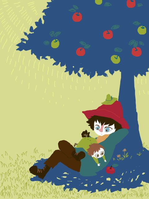 the joxter and baby snufkin