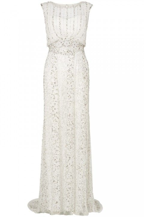 Phase Eight Long White Dress