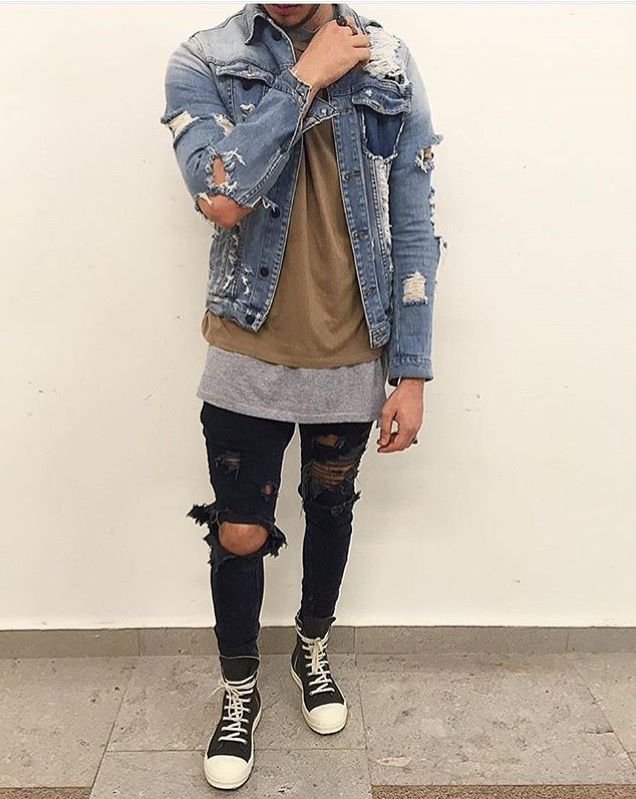 cool layers    distressed  steven olsen