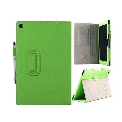 Alpha (Vihreä) Sony Xperia Tablet Z Nahkakotelo