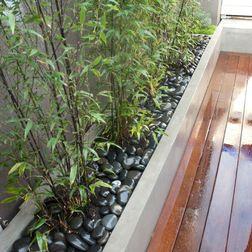 una valla de bambu puede dar mas privacidad