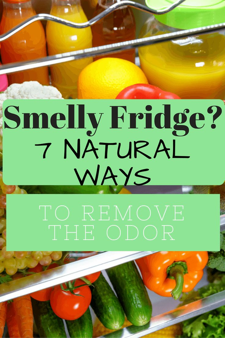Smelly Fridge? We have all opened the refrigerator and had to plug our nose. Find way to naturally get rid of the stink!