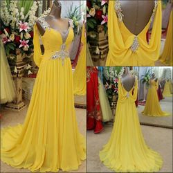 17 Best ideas about Yellow Evening Dresses on Pinterest | Pale ...