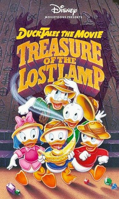 1990 ducktales the movie treasure of the lost lamp