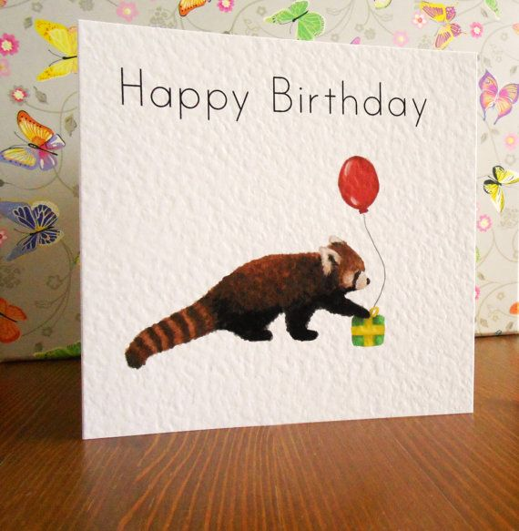 41 best Greetings Cards images – Ferret Birthday Card