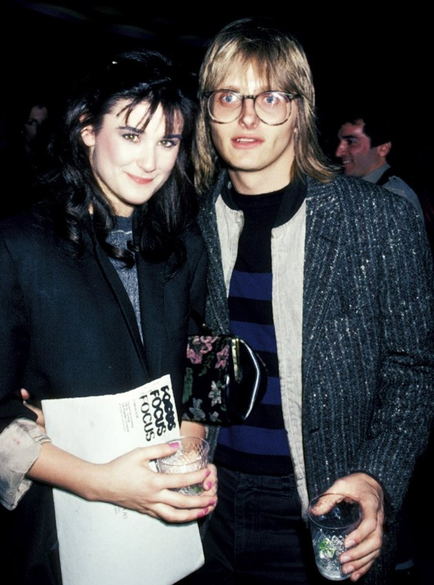 Celebs that married young....  Demi Moore, 17, and Freddy Moore, 30