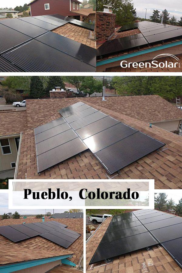 Residential Solar Panel Installation In Pueblo Co Residential Solar Panels Solar Panel Installation Residential Solar