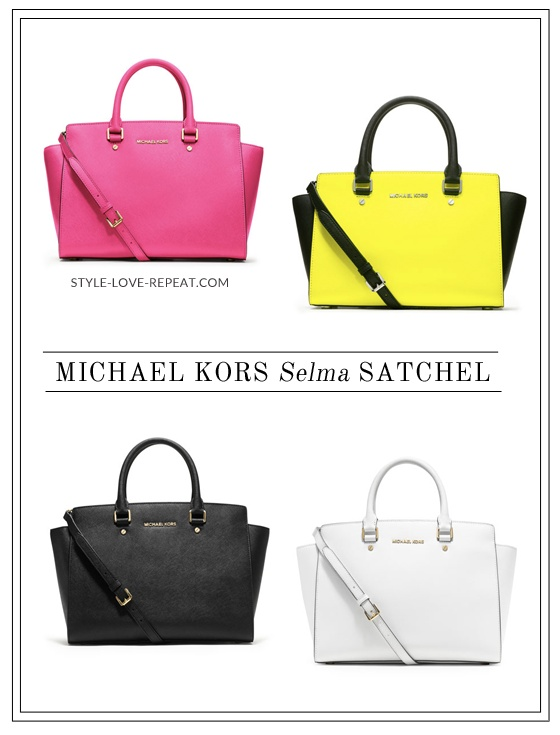 Bag Lust: Michael Kors Selma Satchel