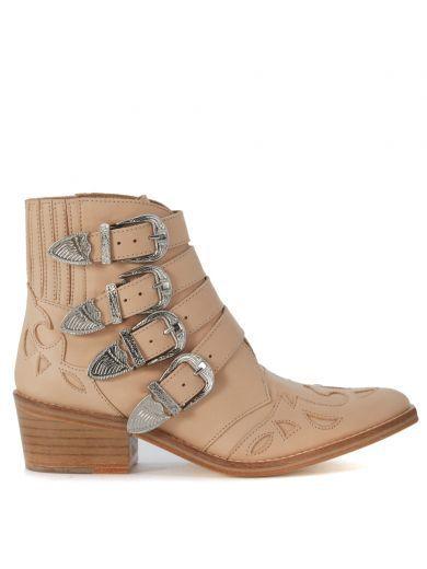 TOGA Texano Toga Pulla In Pelle Rosa Cipria. #toga #shoes #https: