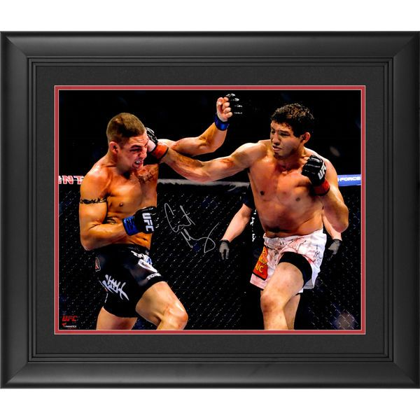 Gilbert Melendez Ultimate Fighting Championship Fanatics Authentic Framed Autographed 16'' x 20'' Horizontal Punching Photograph - $129.99