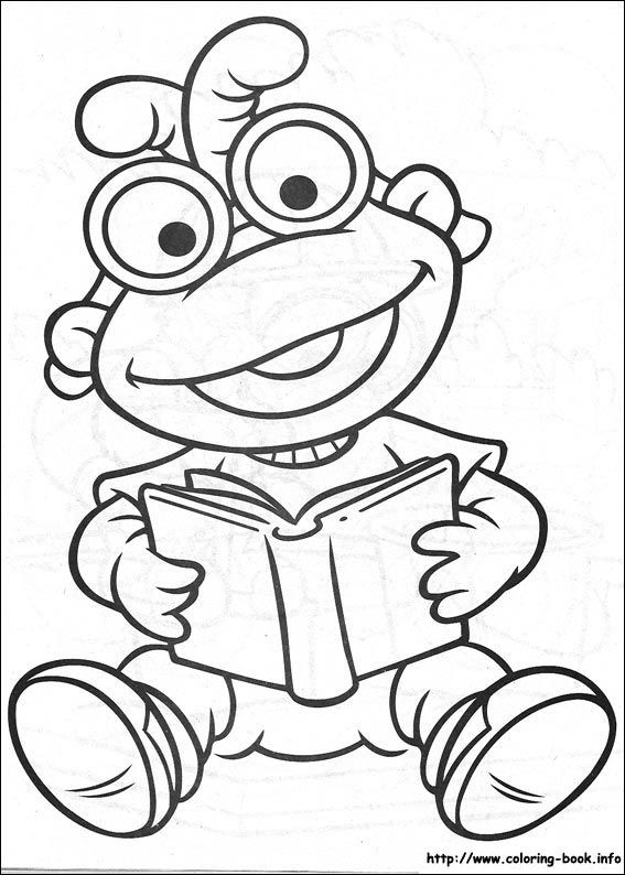 63 best the muppets colouring pages images on Pinterest  Coloring