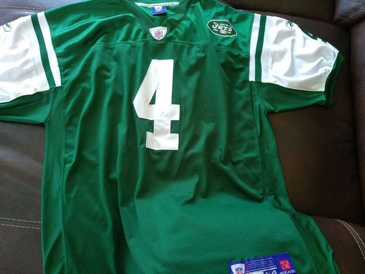 Used Brett Favre New York Jets Reebok On Field Jersey. Size 54 #Reebok