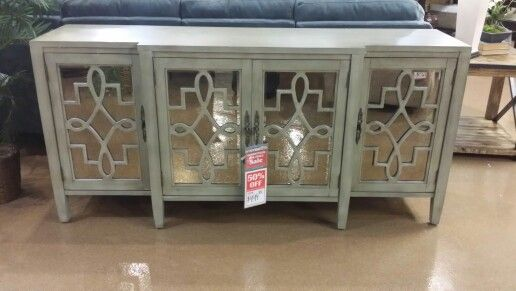 Tv Mirrored Stand Powell 39 S Furniture I Want Pinterest