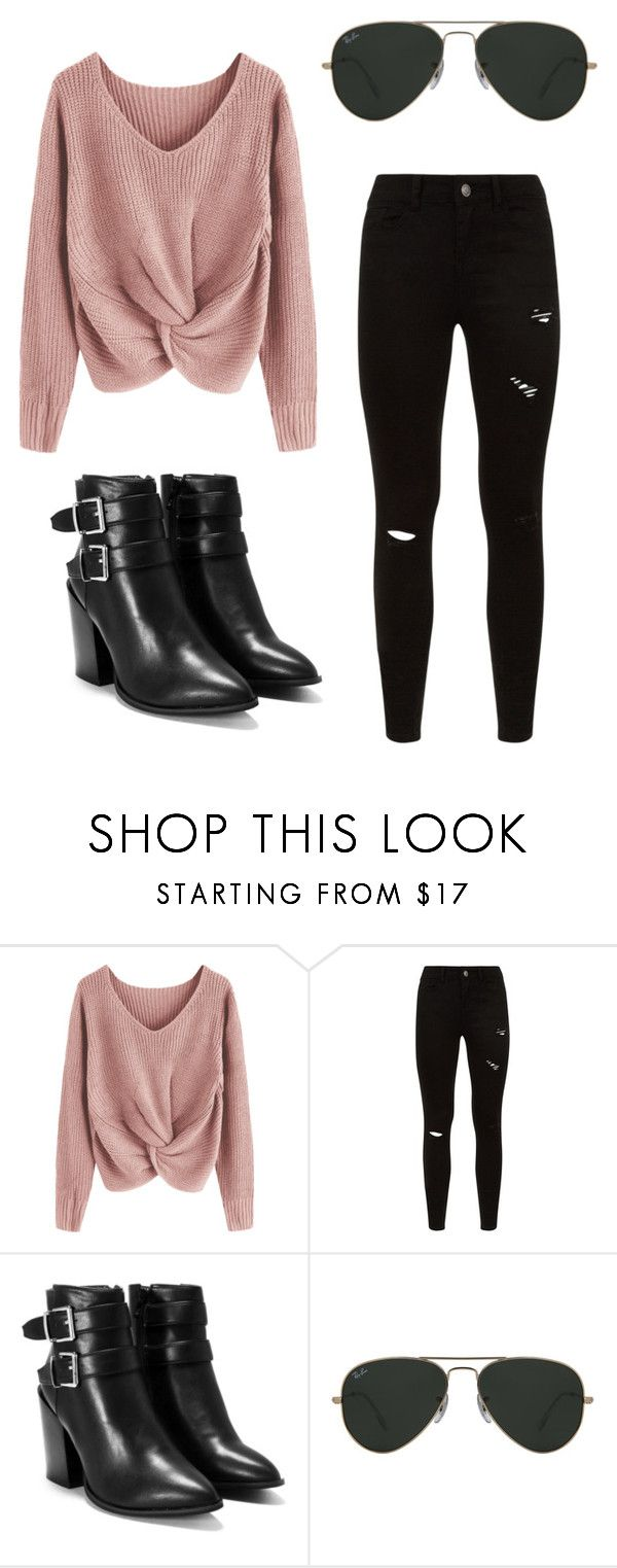 """Sin título #64"" by v0guemendes on Polyvore featuring moda, Nasty Gal y Ray-Ban"