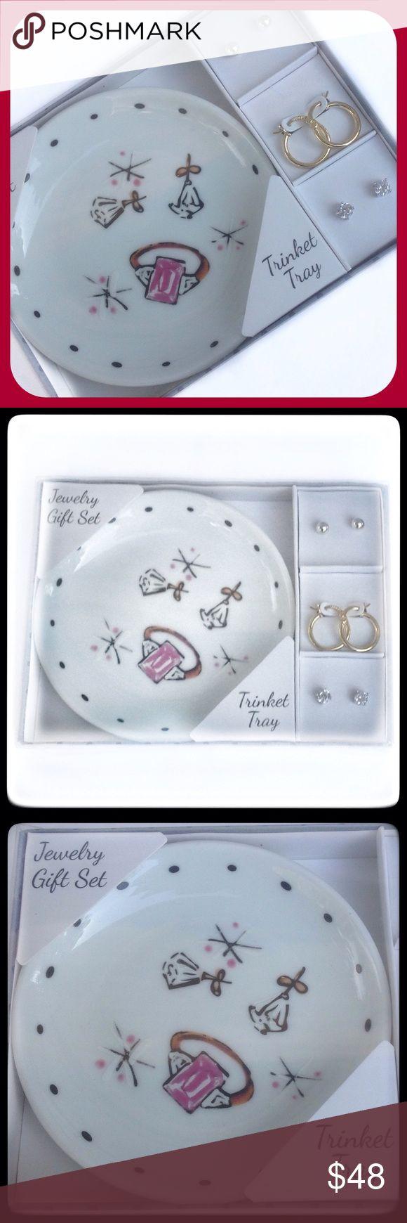 Spectacular Trinket Jewelry Set NWT