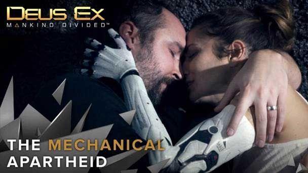 """Deus Ex : Mankind Divided: Deux Ex : Mankind Divided explique l'""""Apartheid Mécanique"""" - Square-Enix et Eidos-Montréal dévoilent aujourd'hui le «Live Action Trailer » du très attendu Deus Ex: Mankind Divided. Ce court-métrage plonge le spectateur dans le monde de Deus Ex, offrant..."""
