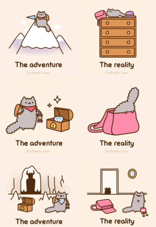 Kitty Adventures from Pusheen
