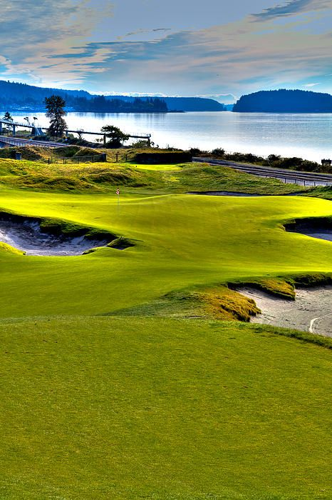 #17 at Chambers Bay Golf Course - Location of the 2015 U.S. Open Championship