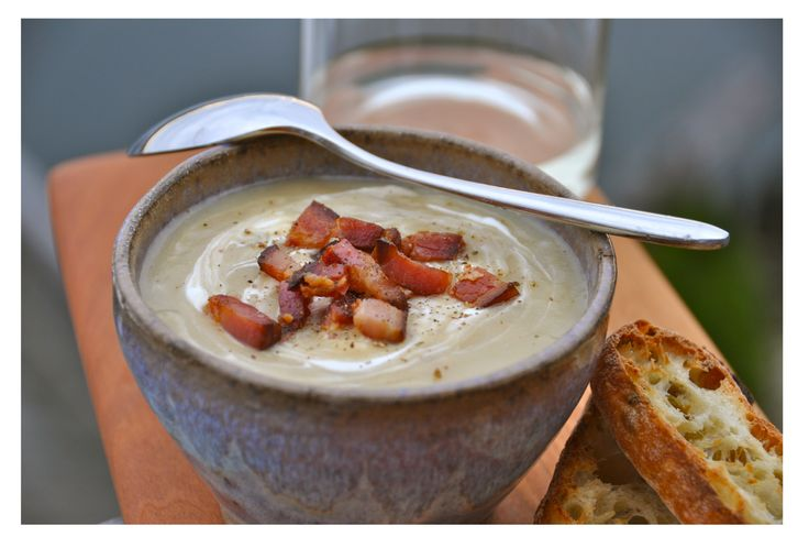 Smokey Bacon Potato Leek Soup | Recipes-Soup/Salads | Pinterest