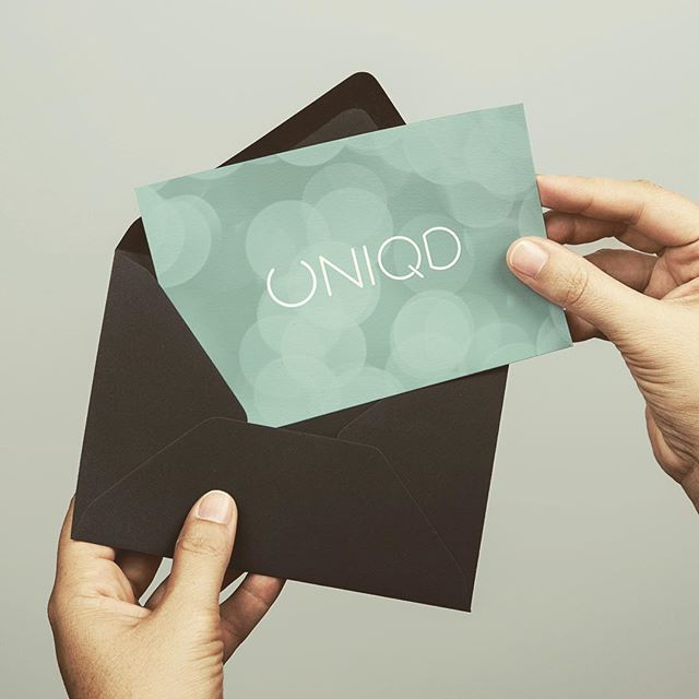It's now possible to order gift cards at www.uniqd.com! What are you waiting for?
