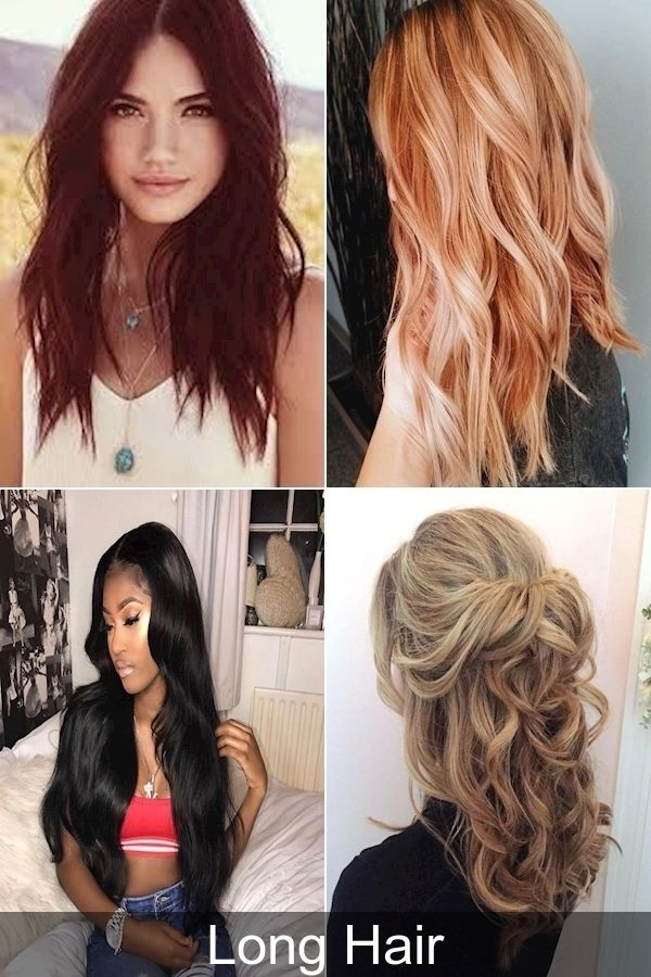 Trendy Hairstyles For Long Hair 2016 Latest Long Haircuts 2016 New Hair Updos In 2020 Long Hair Updo Easy Hairstyles For Long Hair Long Hair Styles