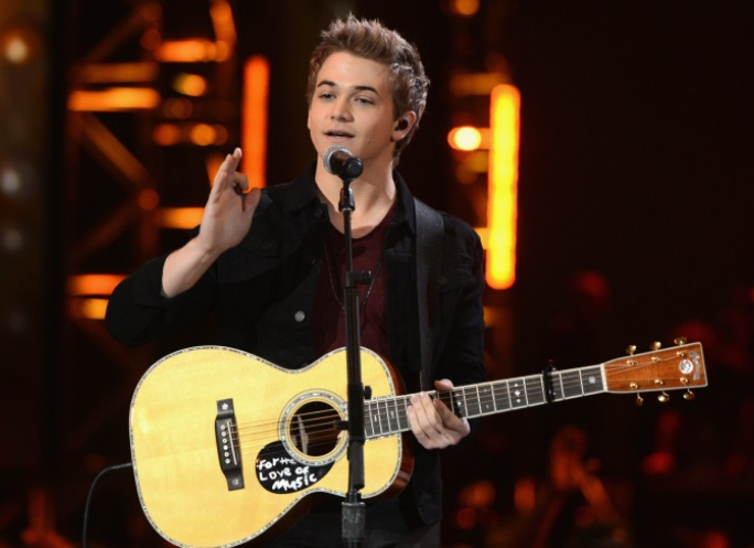"Hunter Hayes performs on ""The GRAMMY Nominations Live!! — Countdown To Music's Biggest Night"" on Dec. 5 in Nashville #TheWorldIsListening     Photo: Kevin Winter/Getty Images"