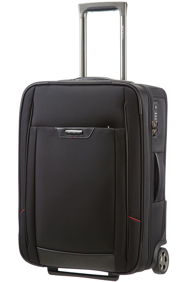 The Samsonite Pro DLX 4 Upright Cabin case weighs only 2.7 kgs and has a volume of 35L. This case is pure business. It carries a 5 year global warranty.