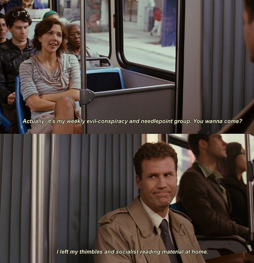 Stranger Than Fiction. I really do love this movie.