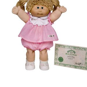 1980s: Cabbage Patch Kids, I still have mine her name is Lydia.